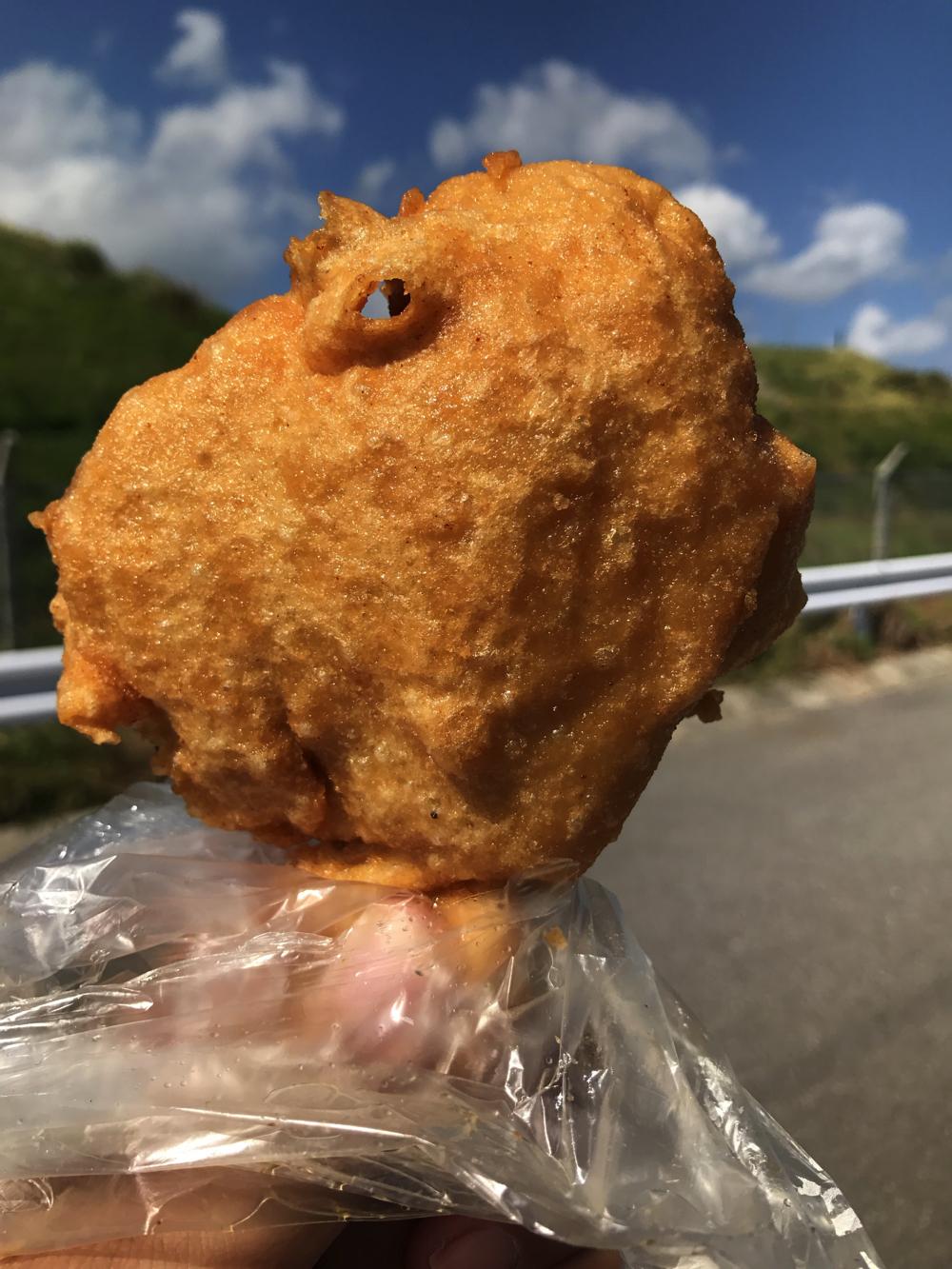 【オヤツ部】とろぴかるはうす 元祖小麦チキン 200円