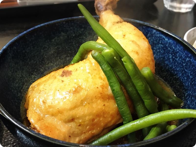 【ランチ部】えいこ鮮魚店 鶏肉スパイシー煮 650円