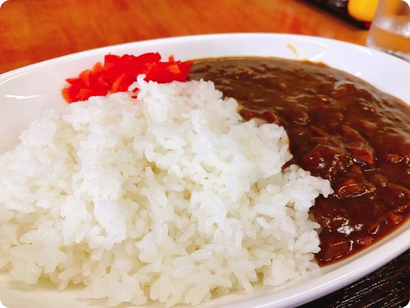 【ランチ部】 大城食堂 牛カレー 600円