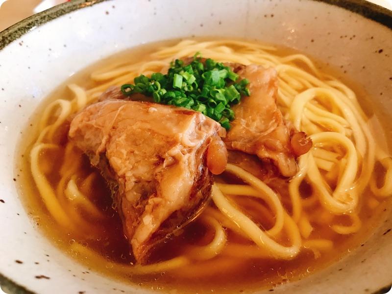 【ランチ部】3no4 ソーキそば 450円