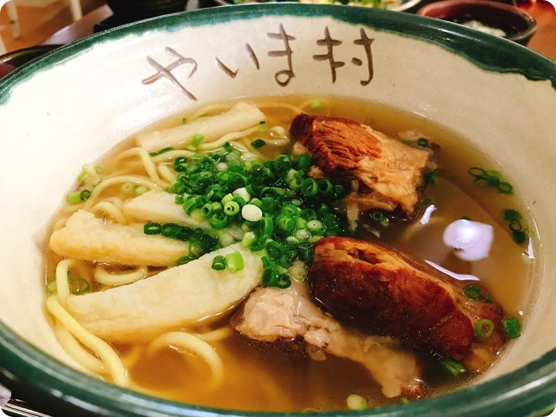 【ランチ部】石垣やいま村 ソーキそば定食 980円