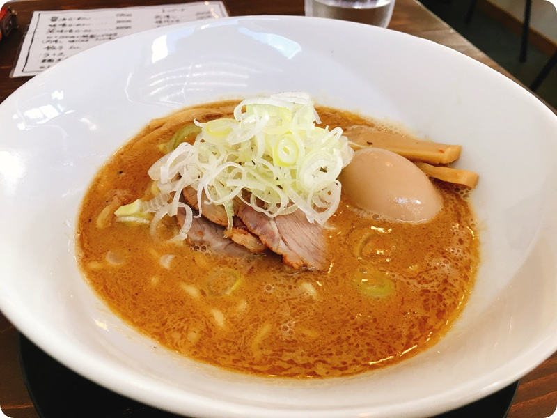 【ランチ部】HIMAWARIらーめん 特製魚味噌ラーメン 1,050円