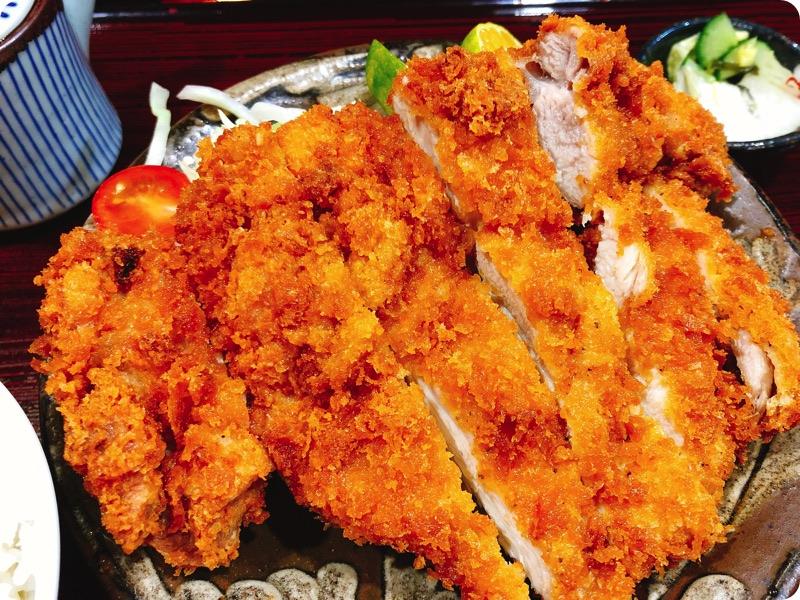 【ランチ部】味屋 じんべい チキンカツ定食 540円