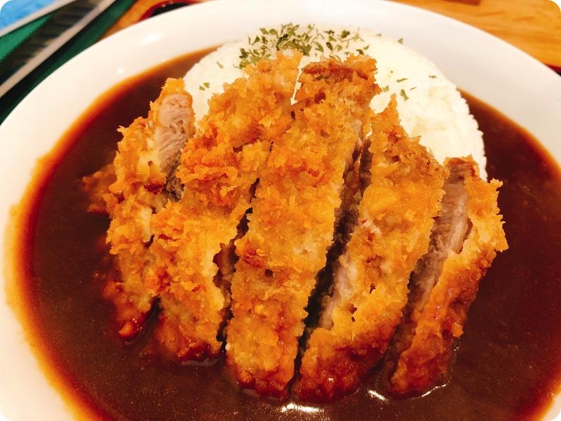 【ランチ部】ひまわり食堂 1枚カツカレー 700円