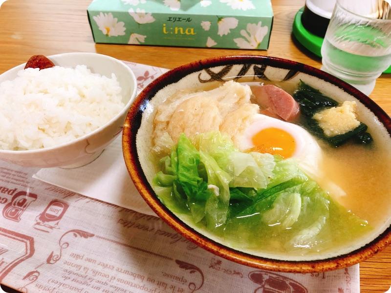 【ランチ部】知花食堂 みそ汁 500円