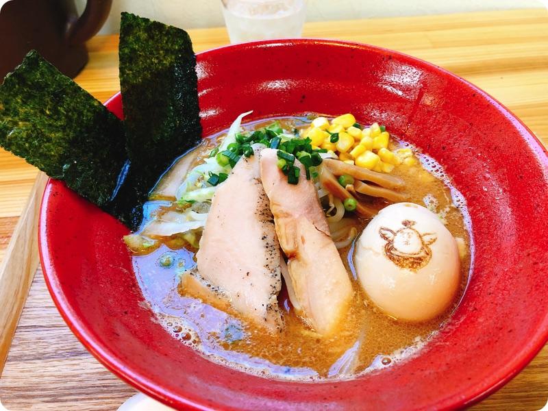 【夕食部】とり次郎  野菜鶏味噌ラーメン 880円