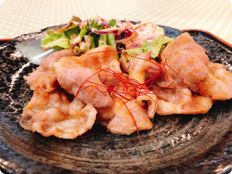 【ランチ部】石垣島食堂 豚の生姜焼き定食 390円