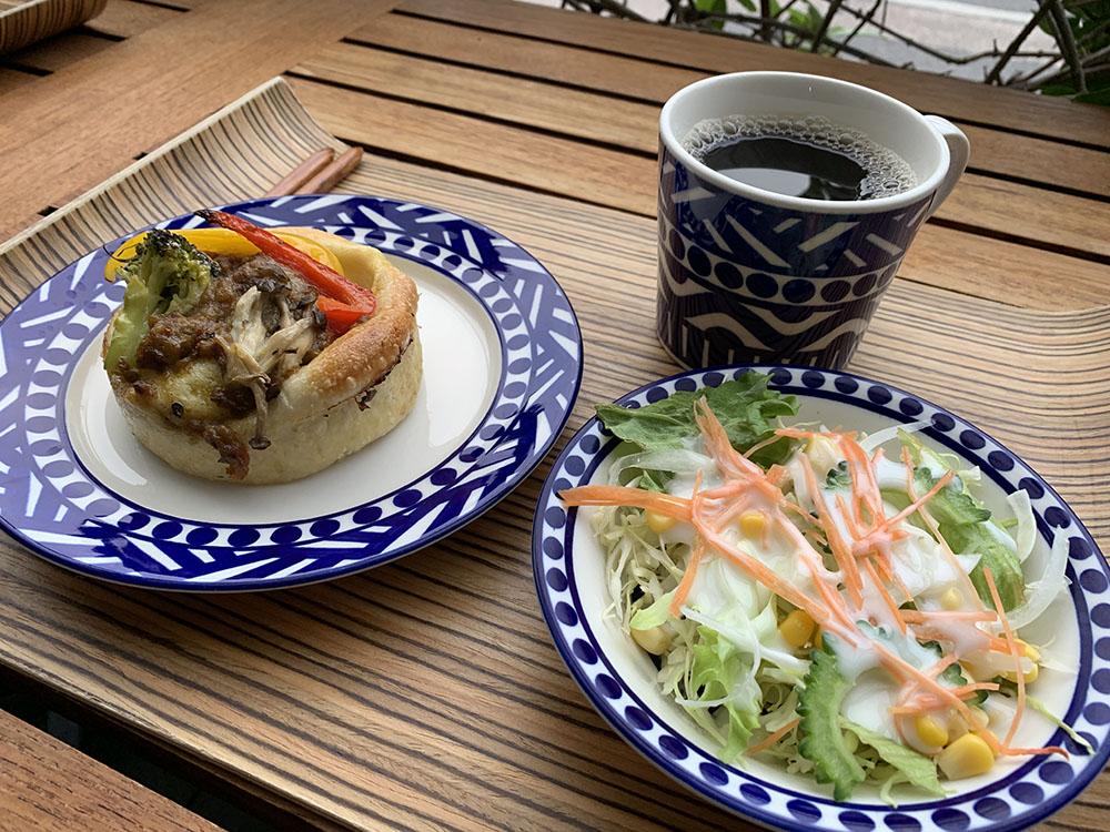 【モーニング部】ブルーカフェ石垣島 モーニングセット 800円