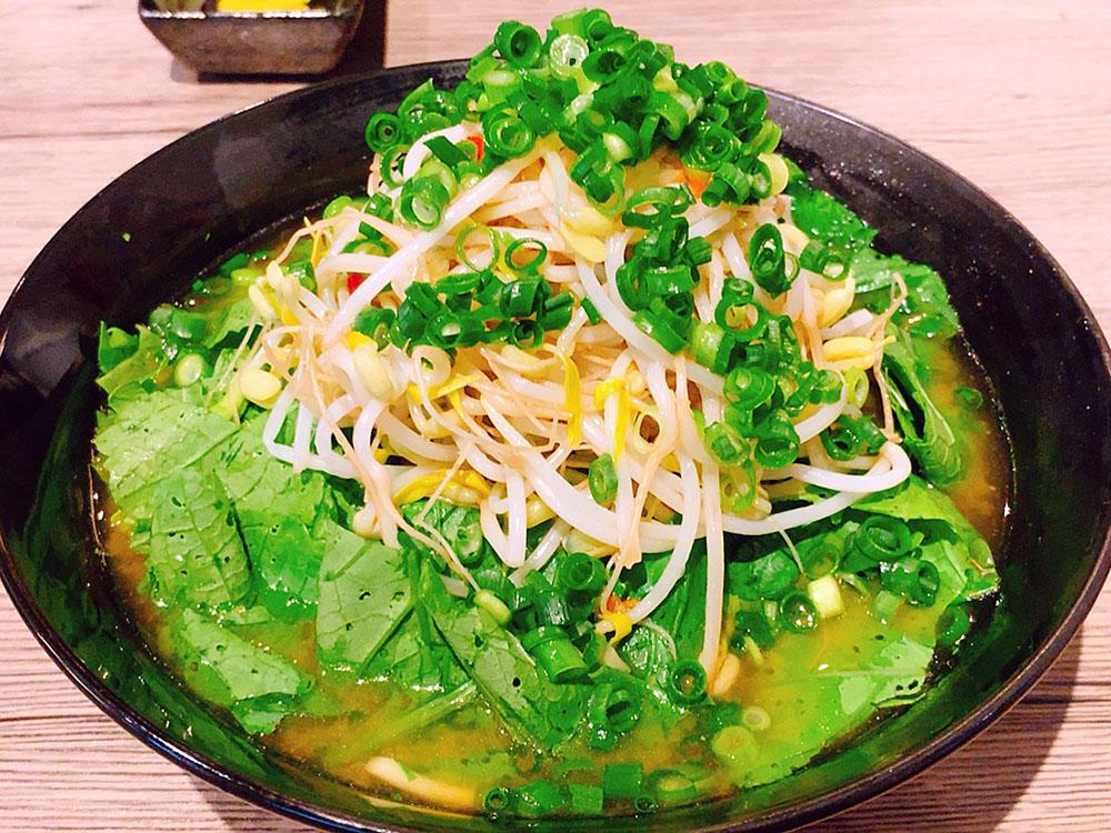 【ランチ部】平良商店 辛味噌野菜そば 750円