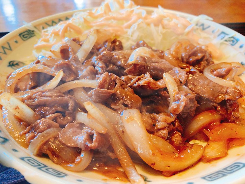 【夕食部】一休食堂 焼肉定食 700円