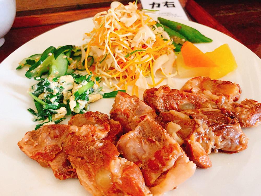 【ランチ部】波照間島 島のもの食堂 あやふふぁみ 豚骨ラフテー定食
