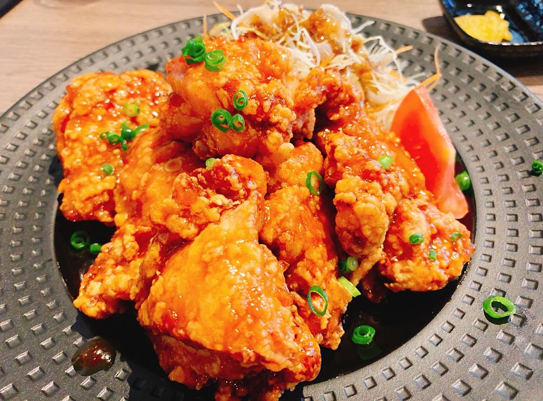 【ランチ部】油淋鶏(ユーリンチー)定食 900円