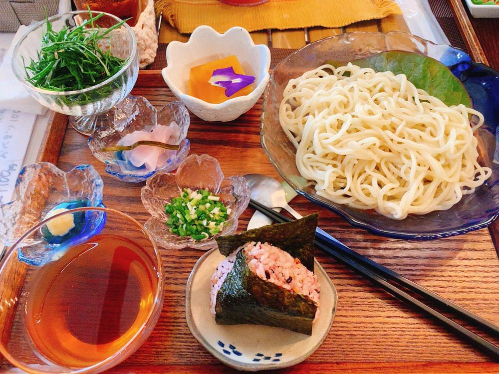 【ランチ部】ダイニング英 冷やし麺セット 1,100円