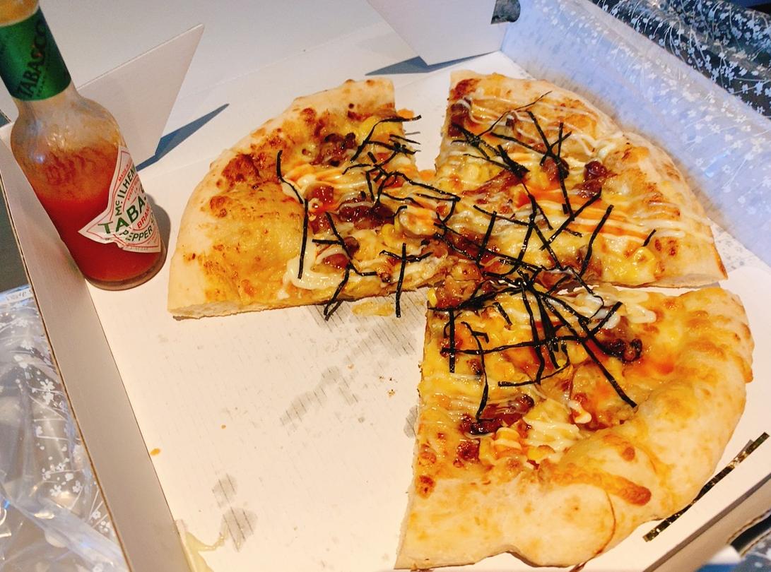 【夕食部】ピザパルコ テリヤキチキンピザ 1,000円→880円