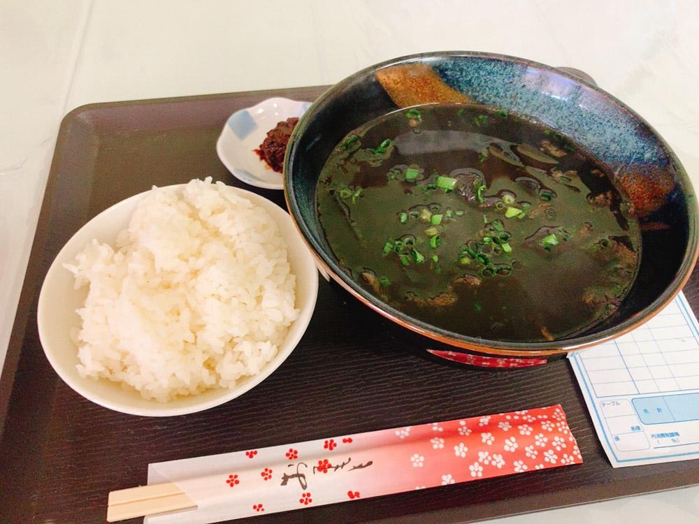 【ランチ部】石垣島食品 いか汁定食 500円 本日オープン!