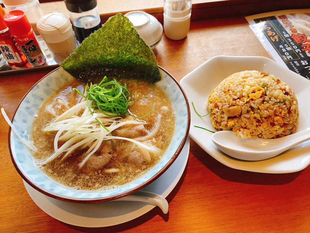 【ランチ部】石垣島麺処 ラーメンチャーハンセット 1,089円