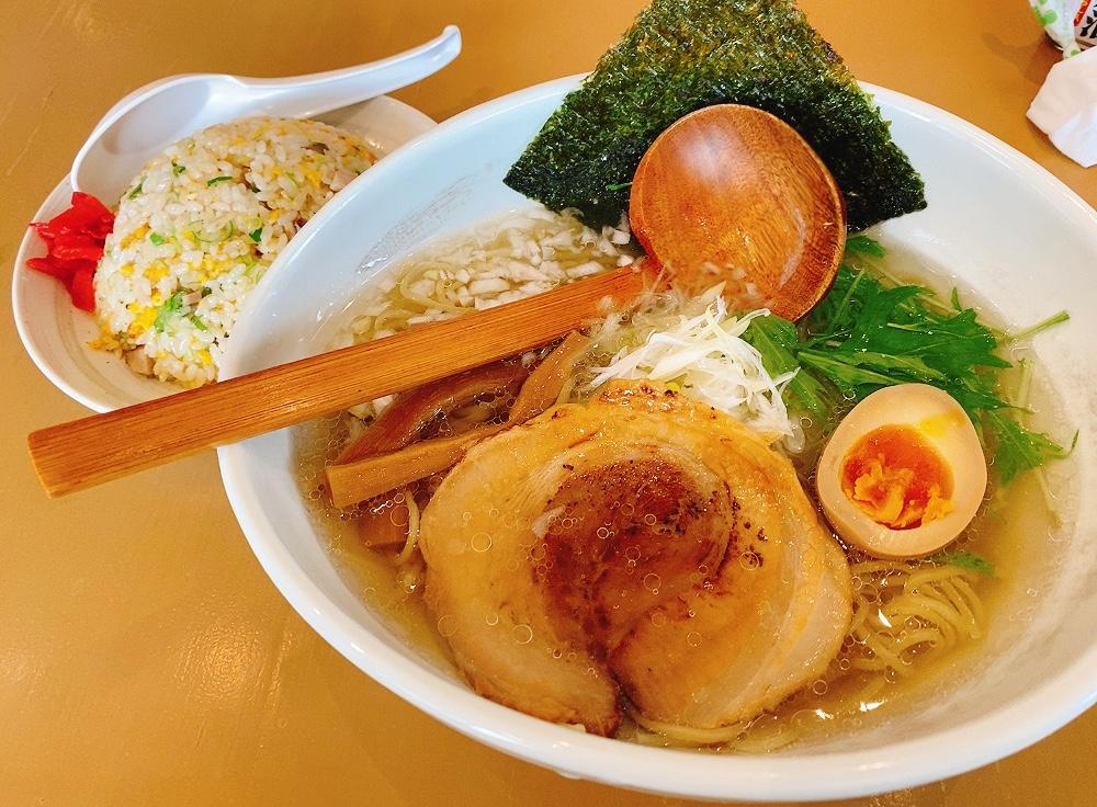 【ランチ部】麺ばるU,Kitchen 半チャーハンセット 935円