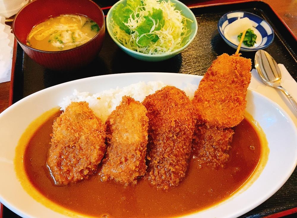 【ランチ部】とんかつ力 ミックスカツカレー 1,000円