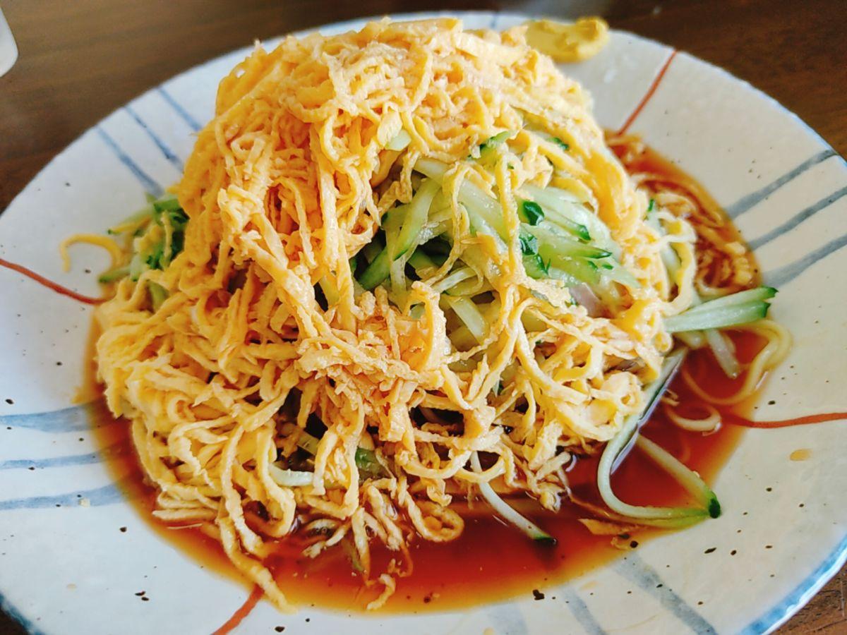 【ランチ部】でいご食堂 冷やし中華 900円