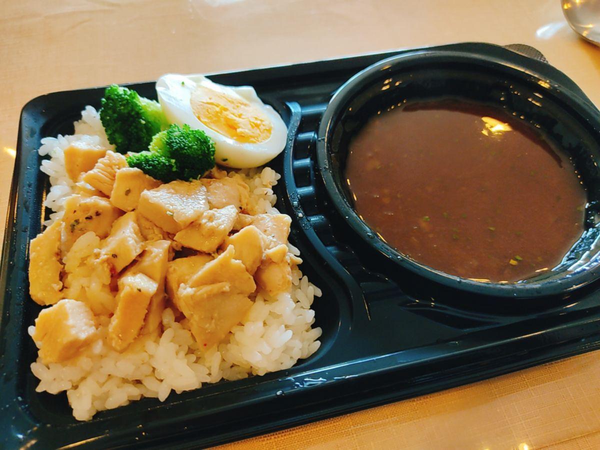 【ランチ部】お弁当屋 みるらふ チキンカレー 500円