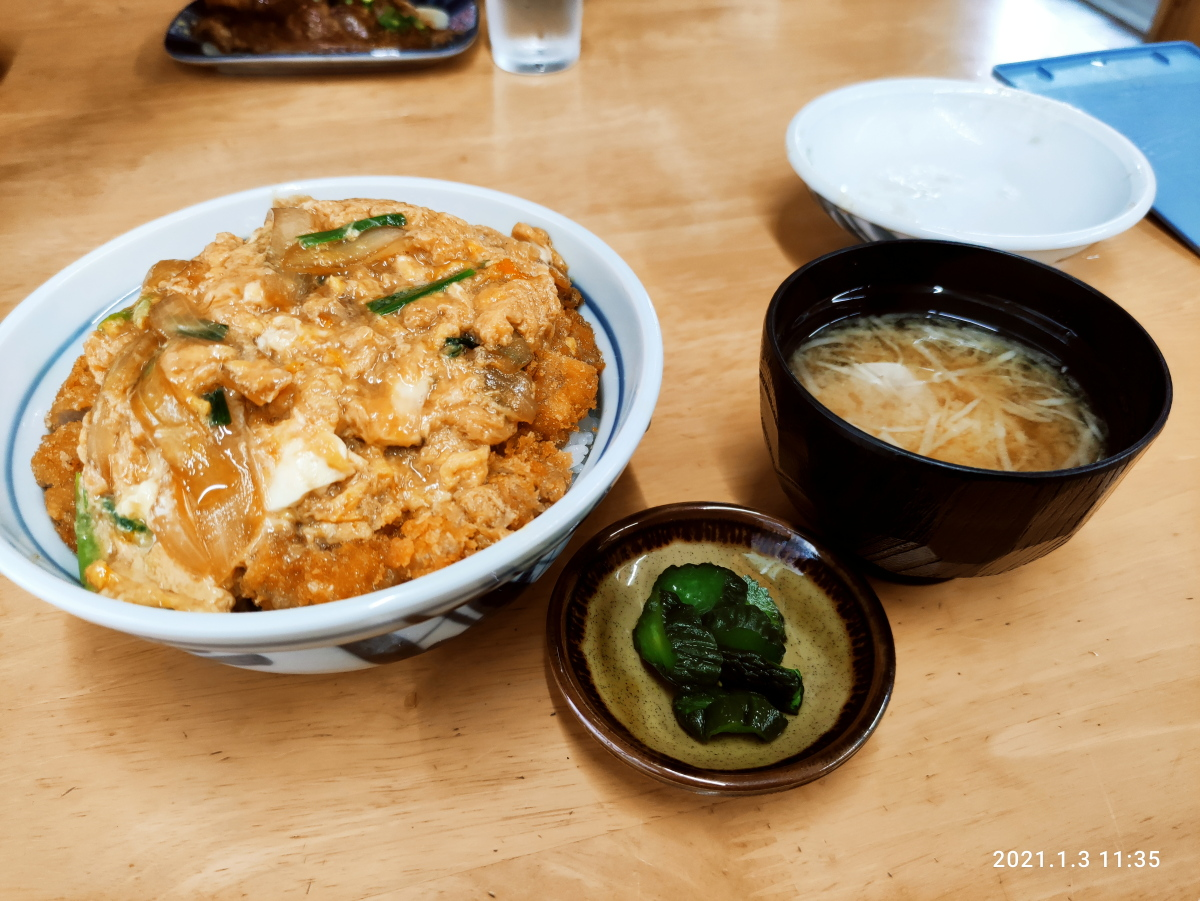 【ランチ部】明石食堂 カツ丼 700円